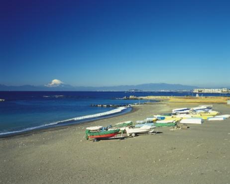 冠雪「Hayama Beach」:スマホ壁紙(9)