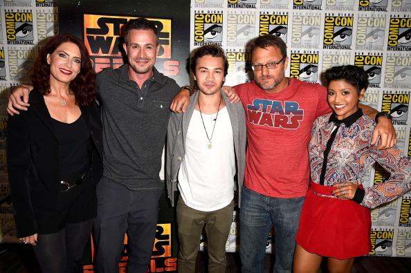 "Star Wars Series「""Star Wars: Rebels"" Press Line - Comic-Con International 2014」:写真・画像(7)[壁紙.com]"