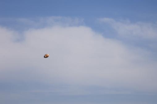 かまくら「Football in sky」:スマホ壁紙(2)