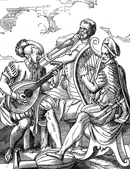 楽器「German Musicians playing Lute and Guitar」:写真・画像(16)[壁紙.com]