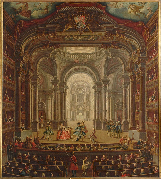 Opera「Teatro Regio Di Torino 1752」:写真・画像(3)[壁紙.com]