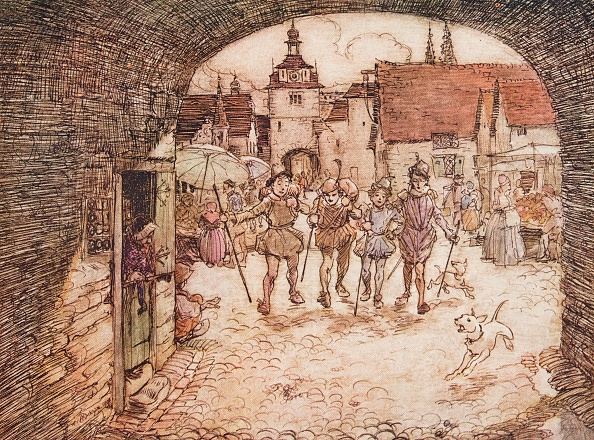 Fairy Tale「The Four Clever Brothers」:写真・画像(6)[壁紙.com]