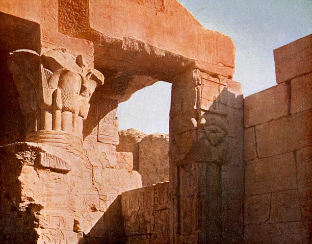Temple at El Medina, Egypt.:ニュース(壁紙.com)