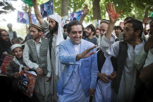 Kabul「Presidential Candidate Abdullah Abdullah Campaigns Ahead Of Afghan Elections」:写真・画像(9)[壁紙.com]