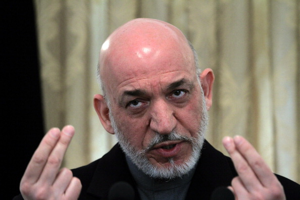 Kabul「Afghan President Hamid Karzai Holds Press Conference At Presidential Palace」:写真・画像(16)[壁紙.com]