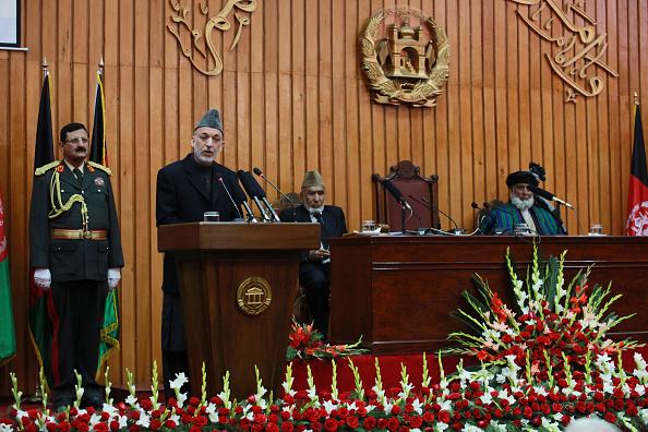 Kabul「President Hamid Karzai Inaugurates New Parliament In Kabul」:写真・画像(9)[壁紙.com]