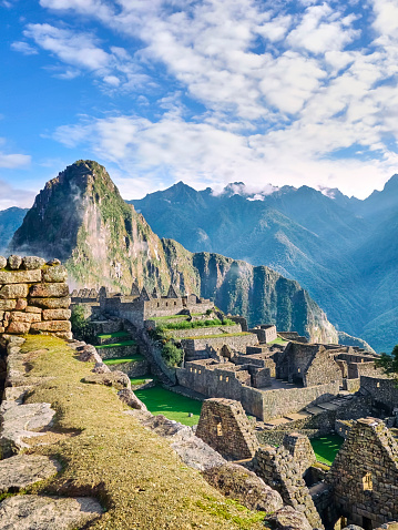 Machu Picchu「Peru, ruined city at Machu Picchu」:スマホ壁紙(12)