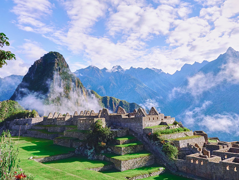 Peru「Peru, ruined city at Machu Picchu」:スマホ壁紙(14)
