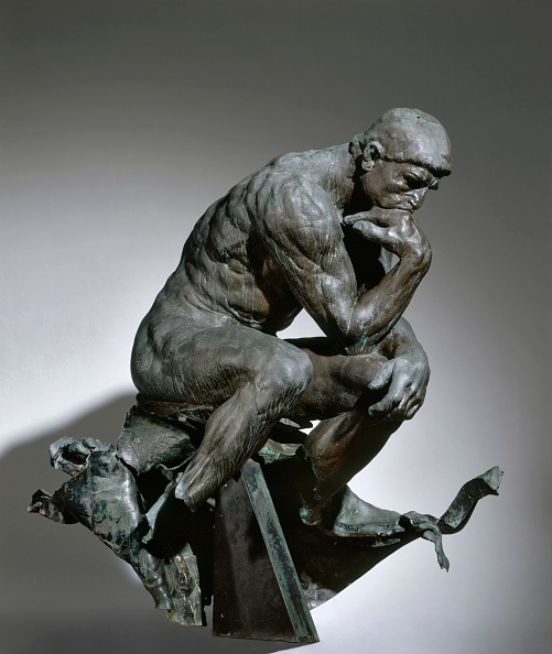 Sculpture「The Thinker」:写真・画像(12)[壁紙.com]