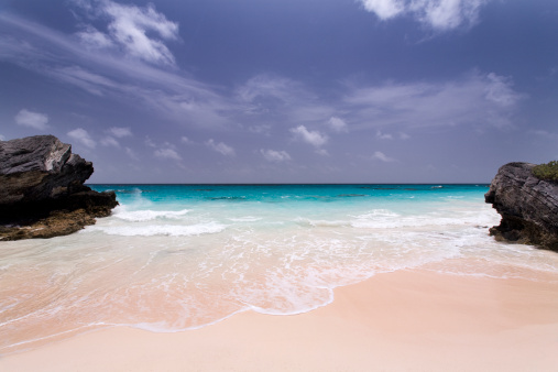 Atlantic Islands「Deserted Pink Sand Beach in Bermuda」:スマホ壁紙(19)