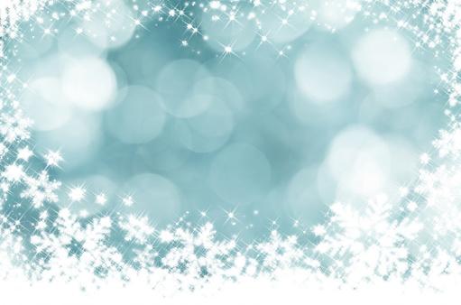 雪の結晶「結晶の交番前のデフォーカスライト」:スマホ壁紙(17)