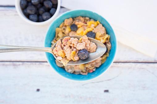 Bowl「Glutenfree muesli with blueberries」:スマホ壁紙(6)
