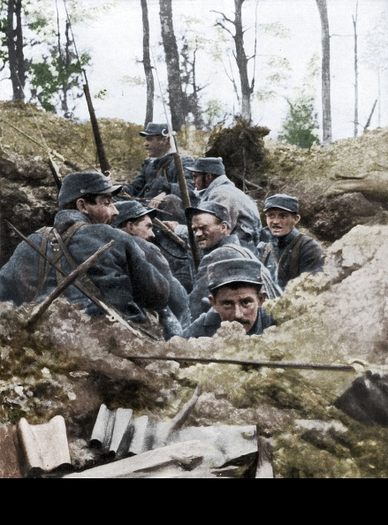 Trench「French Troops In The Trench System Of Calonne」:写真・画像(11)[壁紙.com]