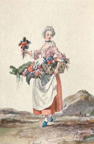 Copy Space「La Bouquetiere Garcon Cafetier, C18Th Century, (1903).」:写真・画像(18)[壁紙.com]