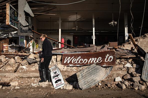 Thunderstorm「Tornado Causes Damage In Bertram, Texas」:写真・画像(15)[壁紙.com]