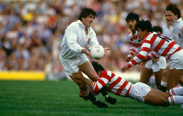 Japan「Stuart Barnes England v Japan Rugby International 1986」:写真・画像(13)[壁紙.com]