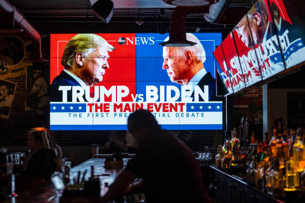 Americans Across The Nation Watch First Presidential Debate:ニュース(壁紙.com)