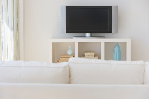 Wide Screen「Television in living room」:スマホ壁紙(16)