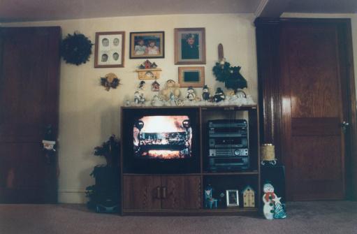雪だるま「Television in Living Room」:スマホ壁紙(1)