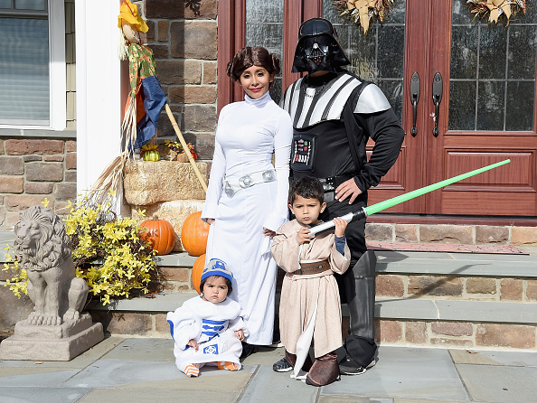 "Star Wars Series「Nicole ""Snooki"" Polizzi, Jionni Lavalle And Family Celebrate Halloween 2015」:写真・画像(14)[壁紙.com]"