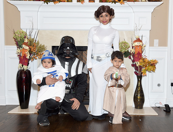 "Star Wars Series「Nicole ""Snooki"" Polizzi, Jionni Lavalle And Family Celebrate Halloween 2015」:写真・画像(1)[壁紙.com]"