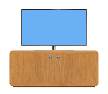 Cabinet「LCD Television with TV Stand」:スマホ壁紙(19)