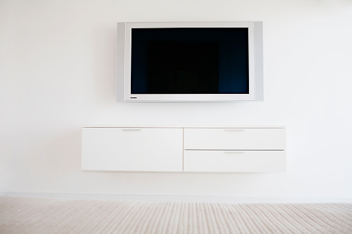 Gear「Television and entertainment center in modern living room」:スマホ壁紙(18)