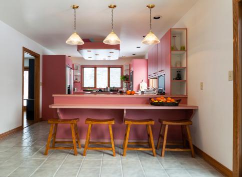 Orange - Fruit「Classic kitchen interior」:スマホ壁紙(9)