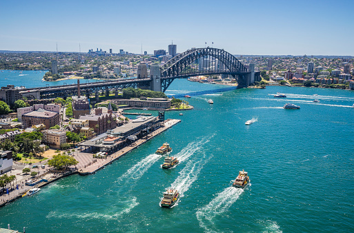 Passenger Craft「Sydney Cove and Harbour Bridge」:スマホ壁紙(0)