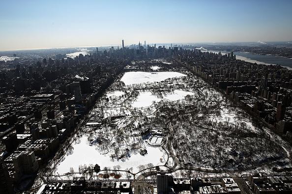 マンハッタン セントラルパーク「Arctic Cold Weather Chills New York City」:写真・画像(18)[壁紙.com]
