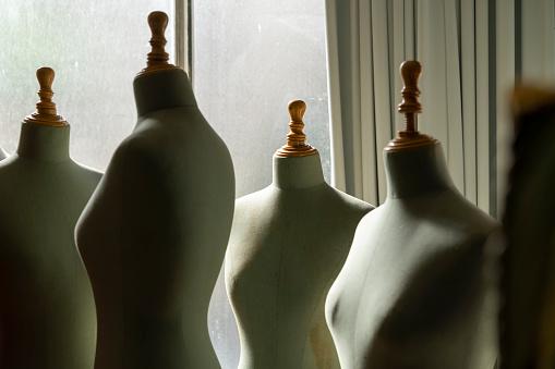 Sewing「Dressmaker's models in fashion designer's studio」:スマホ壁紙(6)