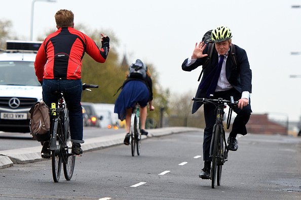 Riding「Boris Johnson Launches London's First Cycle Superhighway」:写真・画像(0)[壁紙.com]