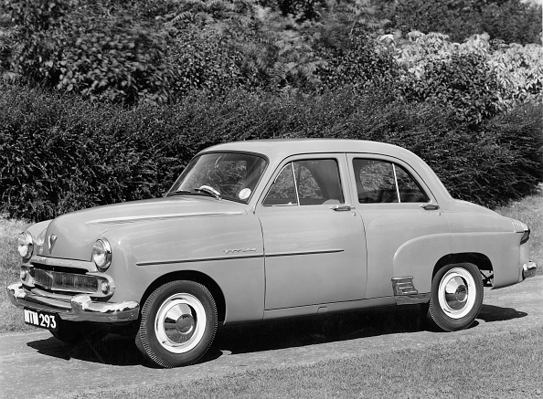 Finance and Economy「1954 Vauxhall Wyvern.」:写真・画像(9)[壁紙.com]