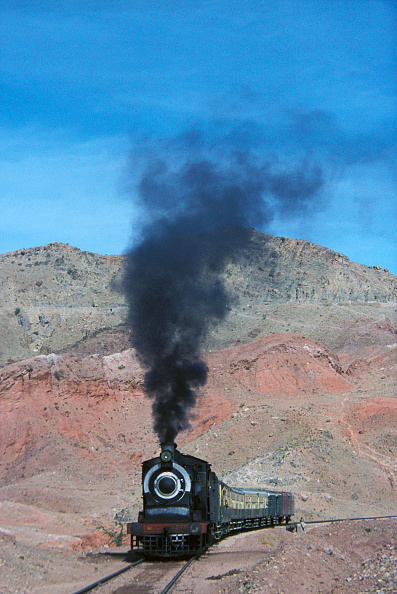 物の形「Pakistan Railway's SGS Class British built inside cylinder 0-6-0 No.2477 with the 14/00 train from Khewra Ð Dandot on Friday 21st January 1977.」:写真・画像(14)[壁紙.com]