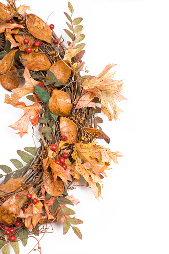 Maple Leaf「Autumn Wreath Series」:スマホ壁紙(12)