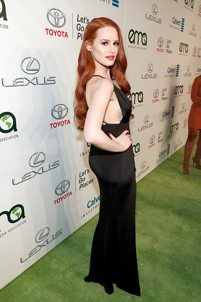 Madelaine Petsch「Environmental Media Association Hosts Its 26th Annual EMA Awards Presented By Toyota, Lexus And Calvert - Red Carpet」:写真・画像(15)[壁紙.com]