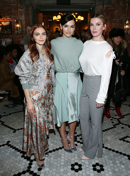 Camilla Belle「Adeam - Front Row - February 2018 - New York Fashion Week」:写真・画像(11)[壁紙.com]