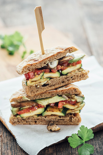 Sandwich「Vegetable sandwich」:スマホ壁紙(17)