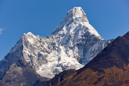 Khumbu「Ama Dablam. Everest Circuit. Nepal motives.」:スマホ壁紙(13)
