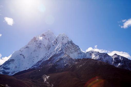Khumbu「Ama Dablam seen from Dingboche, Nepal」:スマホ壁紙(4)