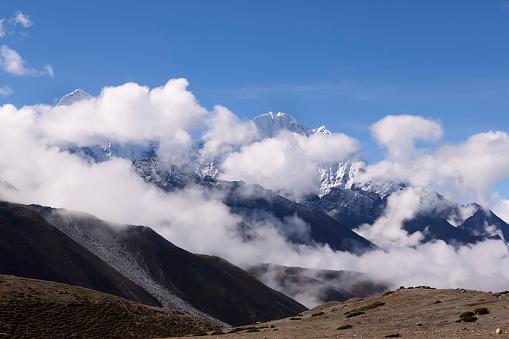 Khumbu「Ama Dablam seen from Dingboche, Nepal」:スマホ壁紙(3)
