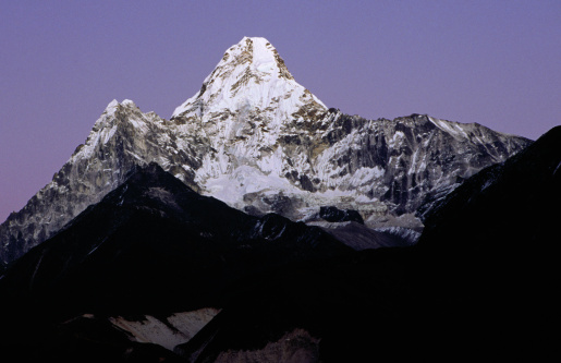 Khumbu「Ama Dablam (6856m) from Pangboche.」:スマホ壁紙(1)