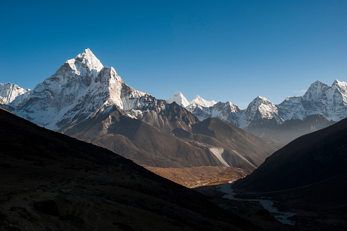 Ama Dablam「Ama Dablam in the Khumbu region of Nepal」:スマホ壁紙(2)