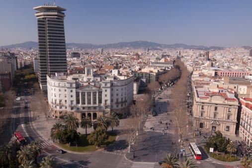Boulevard「Ramblas Barcelona Spain」:スマホ壁紙(19)