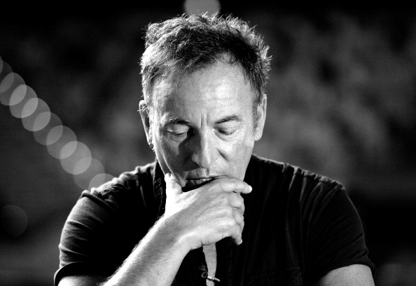 モノクロ「Bruce Springsteen Media Call」:写真・画像(10)[壁紙.com]