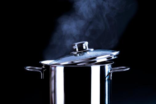 Saucepan「Steaming cooking pot」:スマホ壁紙(3)