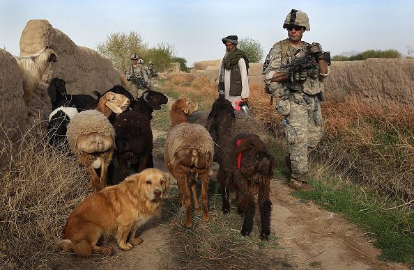 John Moore「U.S. Army Conducts Operations In Kandahar Province」:写真・画像(15)[壁紙.com]