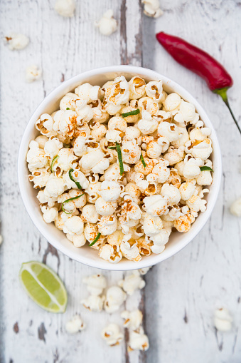 Chili Con Carne「Bowl of popcorn flavoured with chili and lime」:スマホ壁紙(7)