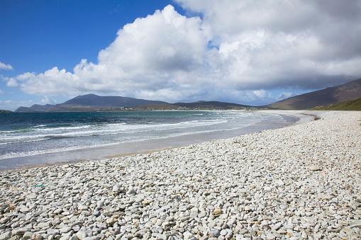 アキル島「Rocky Beach Shoreline; Keel Beach, Achill Island, County Mayo, Ireland」:スマホ壁紙(12)