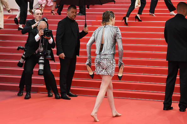 "Kristen Stewart「""BlacKkKlansman"" Red Carpet Arrivals - The 71st Annual Cannes Film Festival」:写真・画像(5)[壁紙.com]"